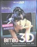 echange, troc Bimbo 3D - L'art du striptease - Blu-ray 3D active  [Blu-ray]