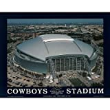 (22x28) Dallas Cowboys Stadium Inaugural Day Sports Poster Print