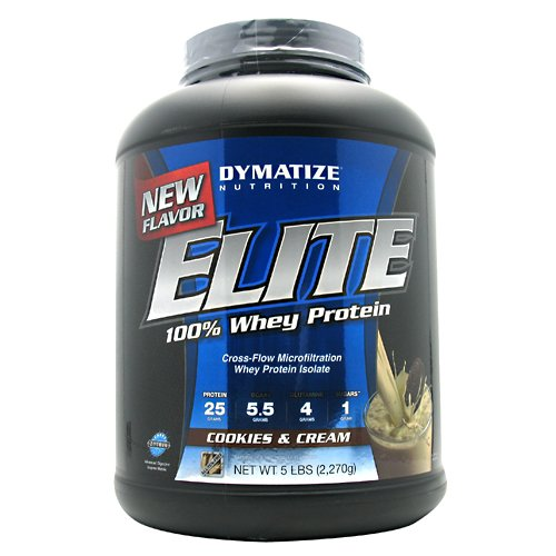 Elite Whey 5 Lbs (2,270G) Cookies & Cream