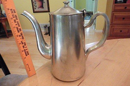 Vintage Waldorf Astoria Vintage tea kettle Coffee Pot D.W. Haber & Son NY