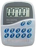 DRETEC ビッグデジタルタイマー 100分計ブルー T-282-BL