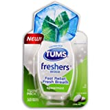 Tums Freshers Tablets, Spearmint, 50 Count
