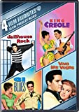 4 Film Fav:Elvis Presley Blues: G.I. Blues/ King Creole/ Jailhouse Rock/ Viva Las Vegas (DVD)