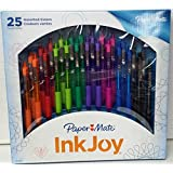 PaperMate InkJoy Ballpoint Retractable Color Assortment Pens (25)