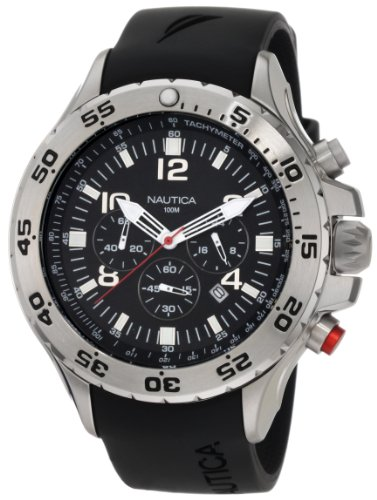 Nautica Mens N14536 NST Chronograph Watch