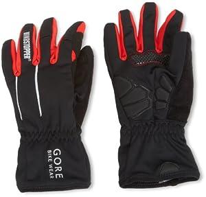 Gore Bike Wear Power Soft Shell Men's Cycling Gloves - Black, 6