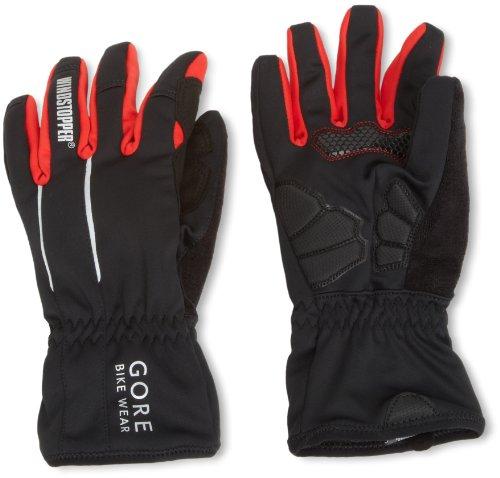 Gore Bike Wear Men's Power Soft Shell Windstopper Gloves, Black, X-Large