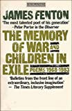 The Memory of War (King Penguin) (0140068120) by Fenton, James