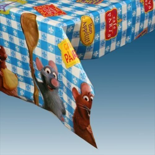 Ratatouille Plastic Table Cover - 1