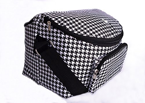 Adult's 12-hour Shift 2-sided Lunch Bag (Houndstooth)
