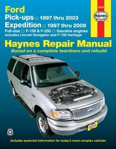 ford-pick-ups-and-expedition-lincoln-navigator-automotive-repair-manual-1st-edition-by-jay-storer-jo