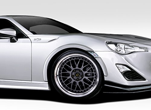 2013-2016 Scion FR-S Subaru BRZ Duraflex Zeus Fender Flares - 8 Piece (Subaru Brz Fender Flares compare prices)