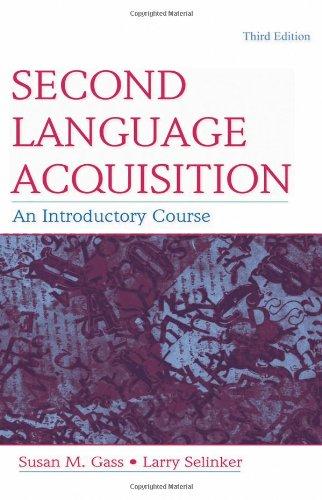 Second Language Acquisition set: Second Language...