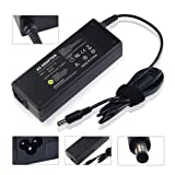 LENOGE® [19V 4.74A 90W 5.5*2.5] Laptop Charger / AC adapter for Toshiba PA-1900-24 Equium M70 M600 Satellite A60 A65 A70 A75 A80 A85 A100 A105 A110 A135 A200 A205 A215 P30 P35 L10 L20 L25 L30 L35 L40 L45 L100 L400 With UK Power Supply Cable