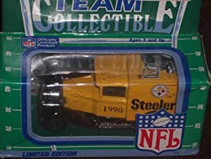 Pittsburgh Steelers 1990 Matchbox White Rose NFL Diecast Ford Model A Truck Collectible Car