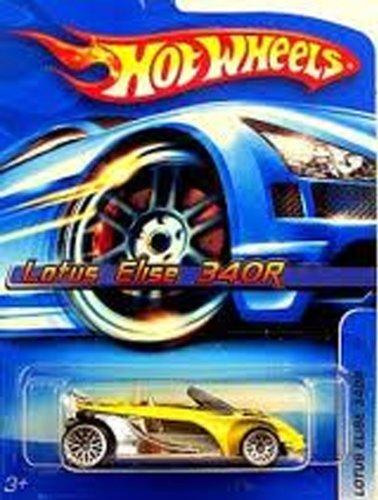 Hot Wheels Yellow Lotus Elise 340r #129 Lace Wheels 2006 1/64 - 1