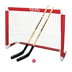 Buy Mylec Deluxe Folding Hockey Goal Set by Mylec