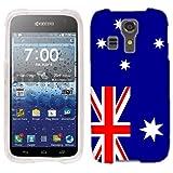 For Kyocera Hydro Icon Australian Flag plastic cover case