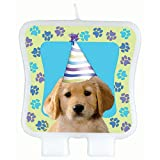Party Pups Puppy Dog Birthday Cake Candle