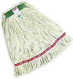 """Rubbermaid Web Foot Wet Mop, 1"""" Headband, White"""