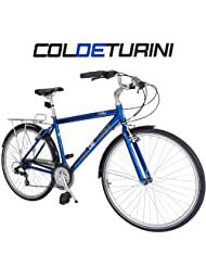 Col de Turini Bellano 700c Touring Bike - Blue - Unisex - 22