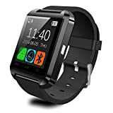 Boriyuan Touch Bluetooth Smart Wrist Watch Phone For IOS Android iPhone Samsung HTC Cellphon Color Black