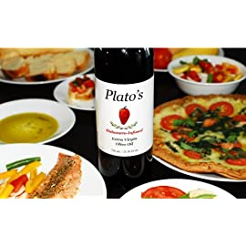 Plato's Habanero Infused Extra Virgin Olive Oil (750 mL / 25.36 Oz, Mild)