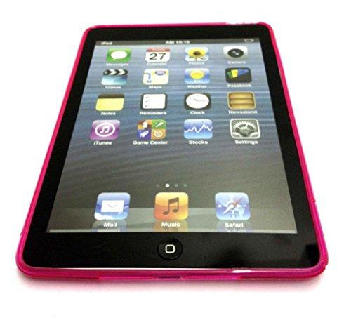 S Line Cover d'Apple IPAD Air vague de gel de silicone pour Apple iPad AIR Hot Pink