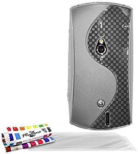 """MUZZANO Coque Souple Ultra-Slim """"Le S"""" Premium Transparent pour XPERIA KYNO ( SONY ) de Qualité Supérieure ORIGINALE - Protection Antichoc ELEGANTE, OPTIMALE et DURABLE + 3 Protections d'Ecran transparents """"UltraClear"""" + 1 STYLET et 1 CHIFFON MUZZANO OFFERTS"""