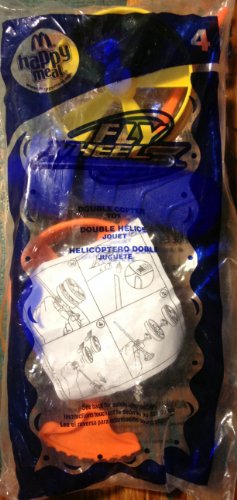 McDonalds Fly Wheels Double Copter Happy Meal Toy
