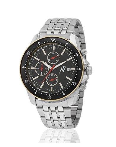 Yepme Men's Chronograph Watch – Black/Silver — YPMWATCH2525