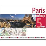 Paris PopOut Map - handy pocket size pop up map of Paris including a metro map (Popout Maps)
