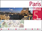 Paris PopOut Map - handy pocket size...