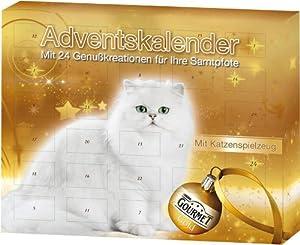 gourmet gold katzenfutter adventskalender f r katzen haustier. Black Bedroom Furniture Sets. Home Design Ideas