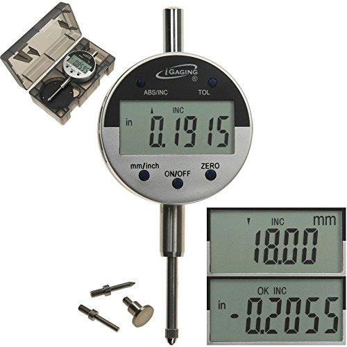 iGaging 35-125-4 Digital Electronic Indicator, 0-1
