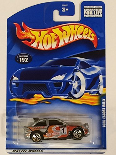 #2001-192 Ford Escort Rally Collectible Collector Car Mattel Hot Wheels 1:64 Scale - 1