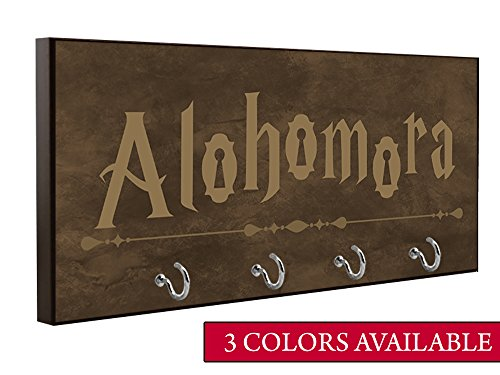 Harry Potter Inspired Alohomora Key Holder | Wall Key Holder | Key Rack | Decorative Key Hook | Home Decor