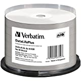 DVD R DL 8.5 GB Thermal Printable Recordable Discs Spindle Pack Of 50 And Free 6 Feet Netcna HDMI Cable - By NETCNA