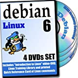 Debian 6, 4-disks DVD Installation and Reference Set