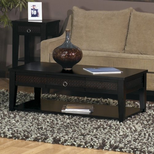 Buy Low Price Banyan Coffee Table Black Finish (B005NZBV14