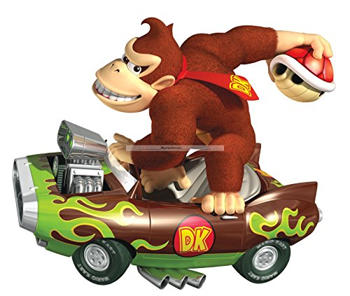 DK Donkey Kong Super Mario Bros Games Wii Kart Brothers Wall Decal Sticker Decor