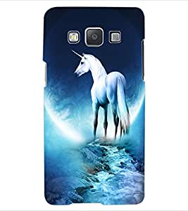 ColourCraft Angel's Horse Design Back Case Cover for SAMSUNG GALAXY A5 A500F