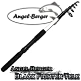 Angel Berger Black Fighter Tele Teleskoprute Spinnrute