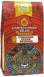 Christopher Bean Coffee Flavored Whole Bean Coffee, Cinnamon Pecan Brownie, 12 Ounce