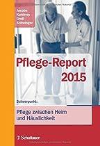 """Titelseite vom Buch """"Pflege-Report 2015"""""""