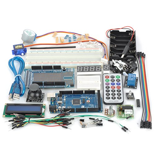 Microcontroller Development Type C Experiment Kit For Arduino (Works With Official Arduino Boards)