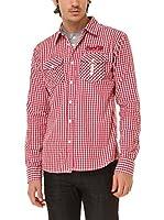 BIAGGIO Camisa Hombre Chourkif (Rojo)