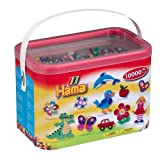 Hama Beads 10,000 Beads in a Bucketby Hama