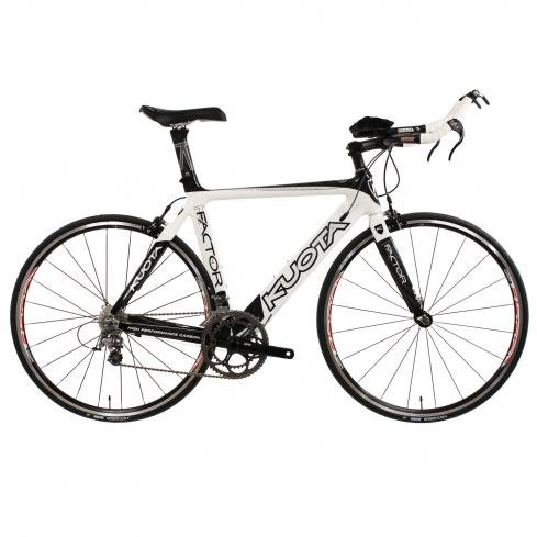Kuota K Factor Race Tri Bike , Black/White, Ultegra SL, M