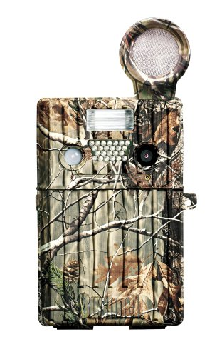 Bushnell 357 Trail Scout 7.0 MP full Color Digital Camera with Game Call Audio record & Infrared Realtree AP Camo